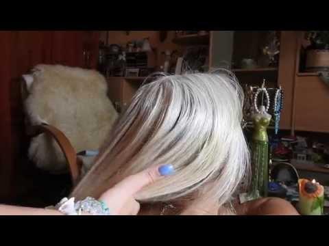 hair brushing, head and neck scratching*ASMR