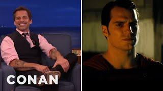 "EXCLUSIVE: Zack Snyder's New ""Batman V Superman"" Clip  - CONAN On TBS"