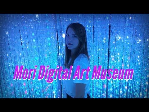 Mori Digital Art Museum, Tokyo || JAPAN VLOG  (お台場)