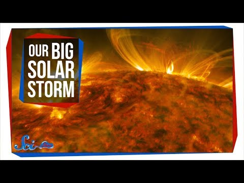 The Strongest Solar Flare in Over a Decade