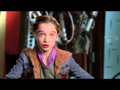 """Tomorrowland: Raffey Cassidy """"Athena"""" Behind the Scenes Movie Interview from YouTube · Duration:  1 minutes 32 seconds"""