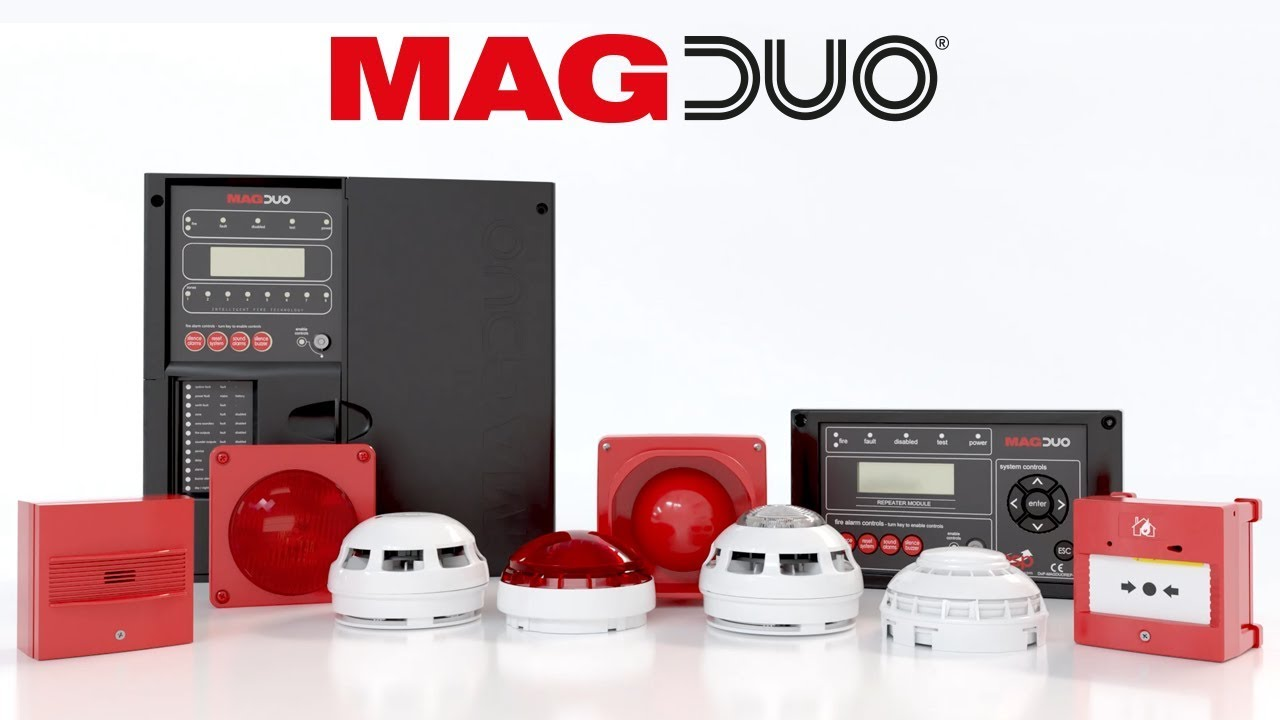 MAGDUO - The New Range Of Two-Wire Fire Systems - ESP