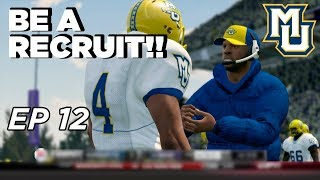 NCAA Football 14 Dynasty   Marquette - BE A RECRUIT!!! SIGN UP NOW! - Ep 12