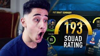 I GOT 193 TOTS FUT DRAFT!!! FIFA 17