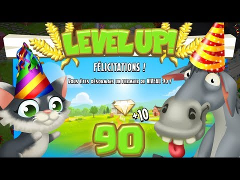 Level Up Niveau 90, On ! Hay