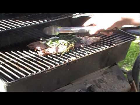 Grilling Lunch (Carne Asada Tacos)