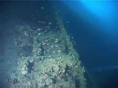 TIRPITZ - The shipwreck dive