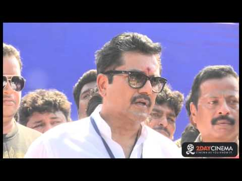 LIVE - I did not attack Vishal - Sarath Kumar Interview - 2DAYCINEMA.COM