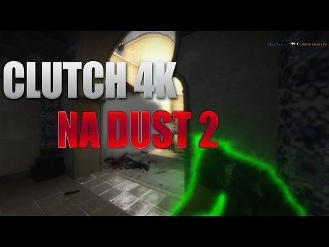 #CS:GO| CLUTCH 4K NA DUST 2!