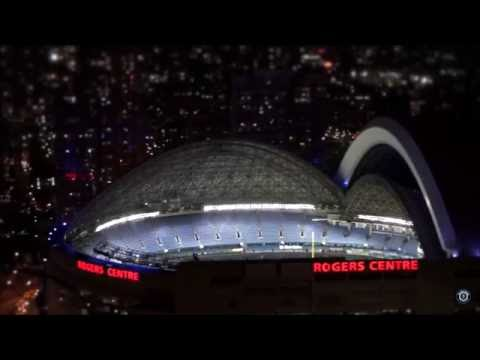Toronto Blue Jays Rogers Centre First Open Dome Game