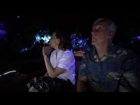 Pandora - The World of Avatar: Sigourney Weaver & James Cameron Ride Na'vi River Journey