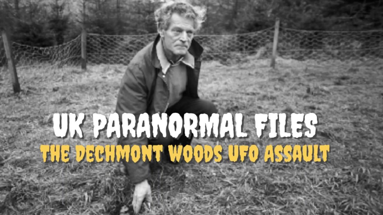 UK Paranormal Files | The Dechmont Woods UFO Assault