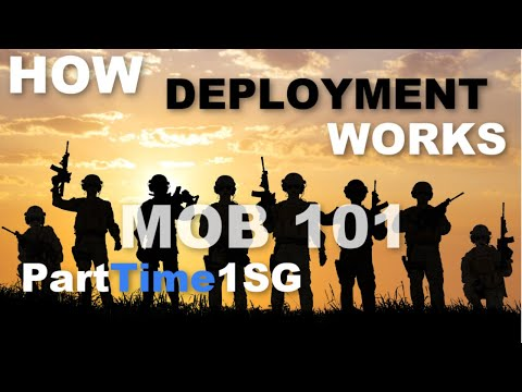 MOB DEPLOY REDEPLOY DEMOB   How It Works   Army National Guard