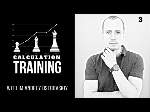 Real-time chess calculation training: tricky minor pieces