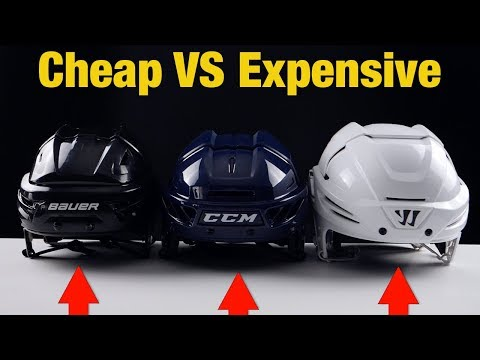 Cheap VS Expensive Hockey Helmets - Which One Is The Best And Most Protective ?