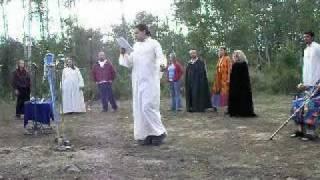 ODU Irish Druidry Ritual part 2 - Aspen Grove Lughnasadh - 8-8-09