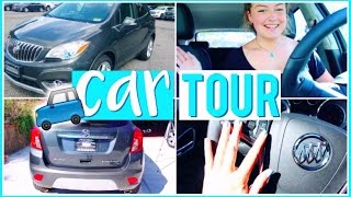CAR TOUR!! | What's In My Car?! | 2016 Buick Encore