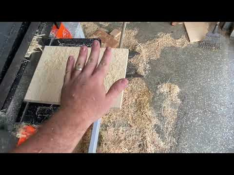 WEN Planer Review & Use Video
