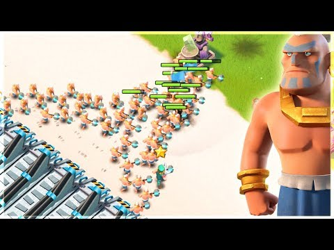 Warriors are Taking Over My MAP! Boom Beach Gameplay