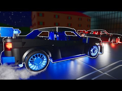ILLEGAL DRIFT RACING INVESTIGATION! - Brick Rigs Multiplayer Gameplay - Lego Police Roleplay