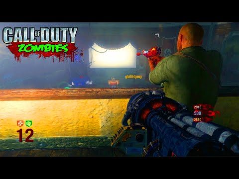 BLACK OPS ZOMBIES KINO DER TOTEN ON XBOX ONE! - BLACK OPS ZOMBIES ON NEXT GEN GAMEPLAY!