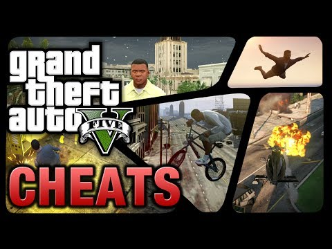GTA 5 - Cheats (PS4, Xbox One, PS3 & Xbox 360)