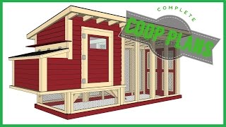 Chicken Coop Plans | Easy DIY Instructions