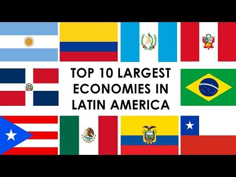 TOP 10 LARGEST ECONOMIES IN LATIN AMERICA / TOP 10 ECONOMÍAS MÁS GRANDES DE LATINOAMÉRICA