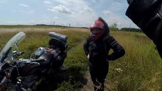 Moto trip to Russia 2019. Part 2. Cross the border.