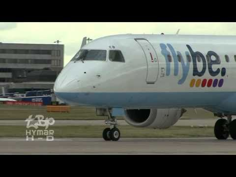 Manchester Airport Up Close - EasyJet, British Airways, BMI, Flybe, Viking, Air Southwest