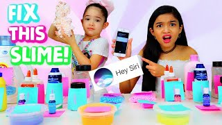 Fix this SLIME SIRI CHOOSES our slimes and ingredients!!!