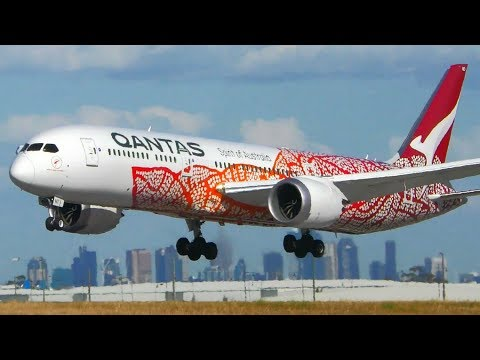 Qantas Fleet Showcase | A330 A380 B737 B747 B787 | Melbourne Airport Plane Spotting