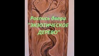 видео Двери из экзотического дерева