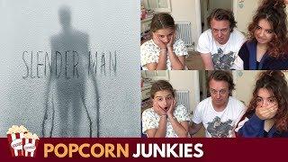 Slender Man Horror Movie Trailer - Nadia Sawalha & Family Reaction & Review