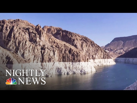As Lake Mead Dries Up, Engineers Dig Deep For Water | NBC Nightly News