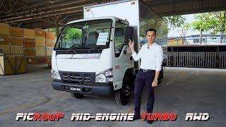 Lái thử xe tải Isuzu QKR Blue Power - 2 cửa, máy giữa, turbo, cầu sau như xe thể thao | Xe.tinhte.vn