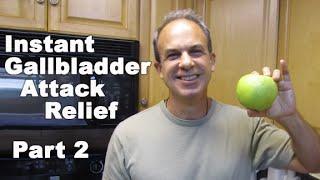 Gallbladder Attack Diet Relief - 5 POWERFUL Gallbladder Attack Diet Recipes - INSTANT Relief PART 2