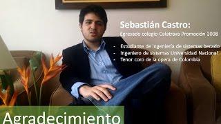 Sebastián Castro - Colegio Calatrava