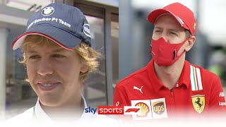 Ted Kravitz and Sebastian Vettel look back at their first encounter 14 years ago!