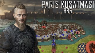 Vikinglerin Paris Kuşatması 885-886 || DFT Tarih Belgesel