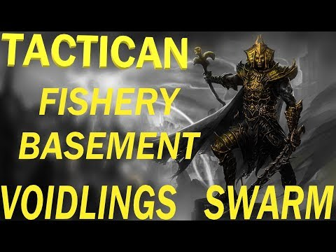 Divinity: Original Sin 2 - Tactician mode - Fishery basement - Voidlings  swarm