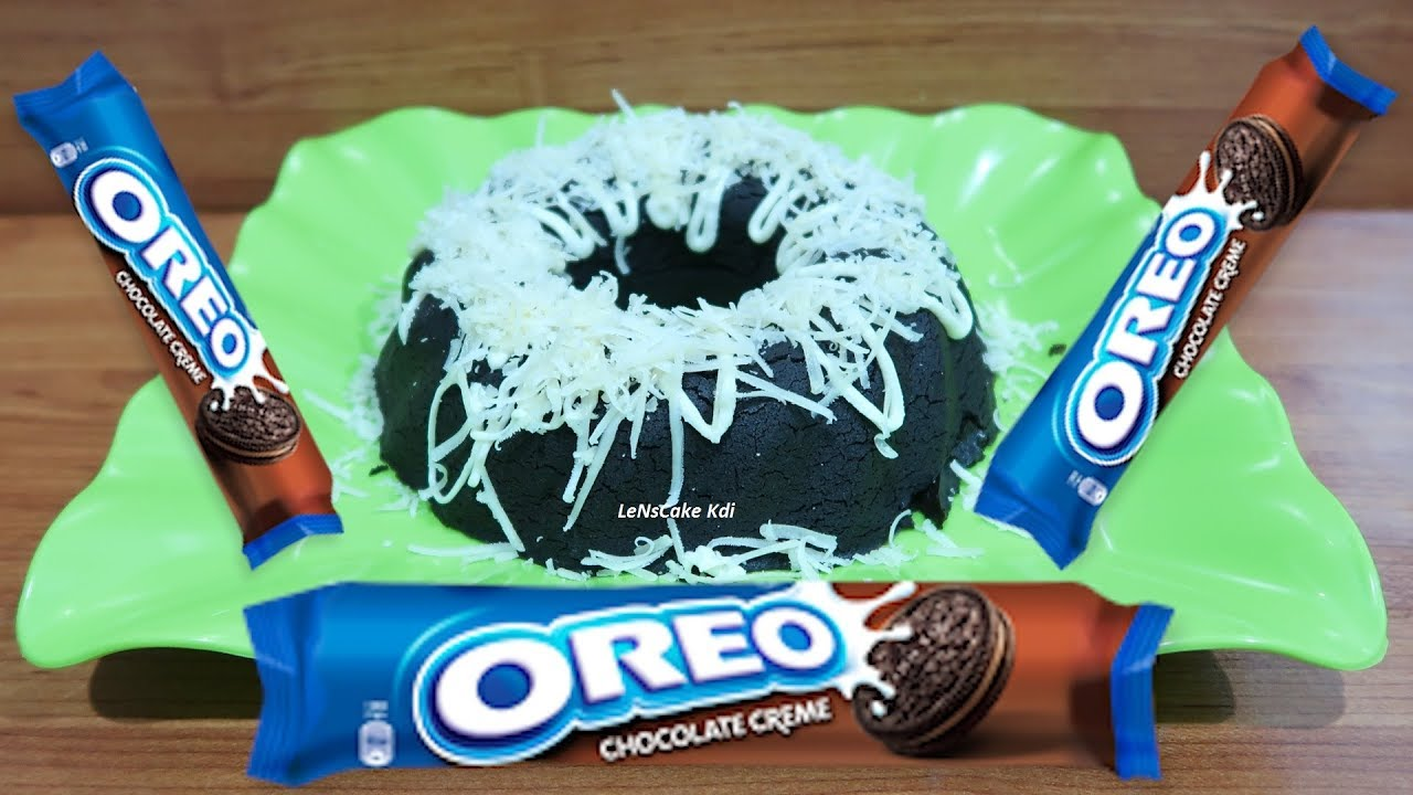 Without Oven And Mixer Recipe How To Make Oreo Cake 2 Ingredients Very Easy