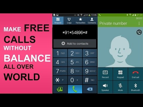Make Free Unlimited Calls in all over world on Mobile & Landline numbers