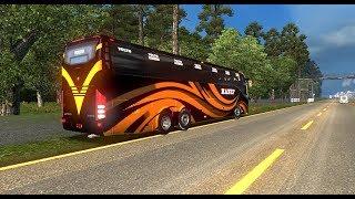 Euro truck simulator 2 hanif volvo bus mod download   ETS2