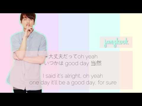 "BTS ""GOOD DAY"" LYRIC VIDEO (방탄소년단 ""Good Day"" 가사 비디오) [JAP|ENG]"
