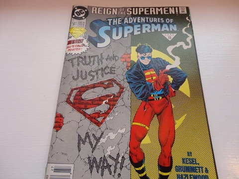 1993 The Adventures Of Superman Comic Book-Auction Find