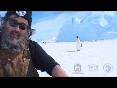 Antarctic marine safety message