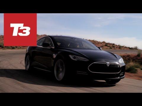 Tesla Model S test drive hands-on