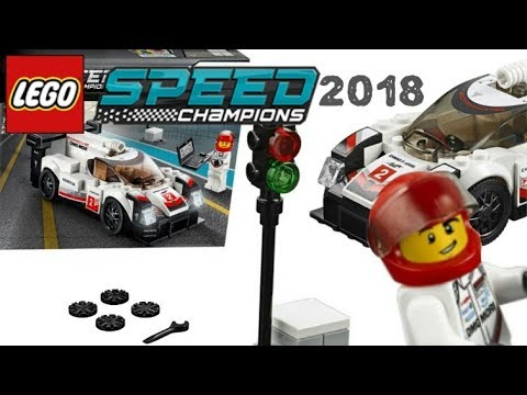 Quick Review: Lego Speed Champions 2018, Porshe 919 Hybrid
