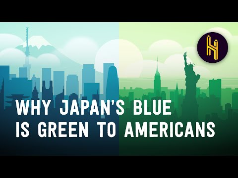 Why Blue in Japan Looks Like Green to Americans